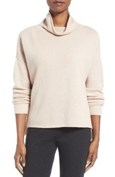 Eileen Fisher Women's Recycled Cashmere And Lambswool Sweater Dune