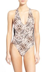 Women's Volcom 'Lost Sea' One Piece Swimsuit