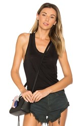 Cotton Citizen The Mykonos Racer Tank Black