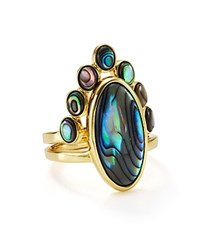 Jules Smith Designs Eclipse Stacking Cocktail Rings Set Of 2 Gold Multi