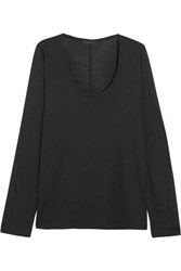 The Row Baxerton Jersey Top Black