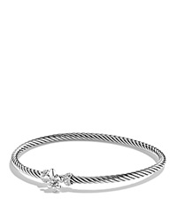 David Yurman Cable Collectibles Fleur De Lis Bracelet