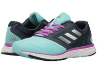 Adidas Mana Racer Clear Aqua Silver Shock Purple Women's Running Shoes Blue