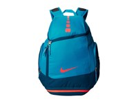 Nike Hoops Elite Max Air Team Backback Light Blue Lacquer Blue Force Bright Crimson Backpack Bags