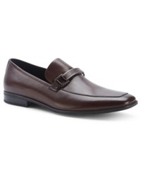 Kenneth Cole New York Take Me Home Bit Loafers Men's Shoes Brown