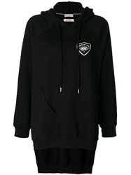 Each X Other High Low Hem Oversized Hoodie Black