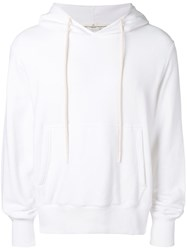 Golden Goose Deluxe Brand Back Print Hoodie White