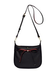 Nica Bow Tie Crossbody Black