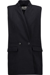 Iro Altey Twill Gilet Navy