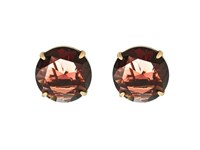 Marc Jacobs Large Stone Statement Studs Earrings Blush Rose Earring Pink