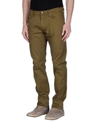 Mcs Marlboro Classics Casual Pants Military Green