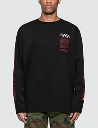 Heron Preston Nasa Over Long Sleeve T Shirt Black