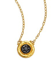 Gurhan Celestial Diamond And 24K Yellow Gold Pendant Necklace 24K Gold