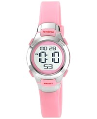Armitron Women's Digital Pink Strap Watch 27Mm 45 7012Pnk