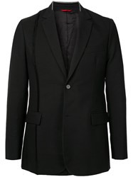 Oamc One Button Blazer Black