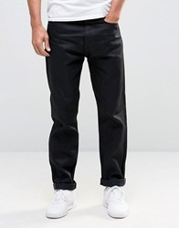 Edwin Ed 45 Black Selvedge Tapered Jeans Unwashed