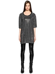 Faith Connexion All Over Studded T Shirt Dress