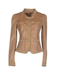 Ermanno Ermanno Scervino Suits And Jackets Blazers Women Camel