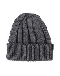 Wrangler Grey Cable Knit Hat