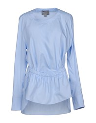 Roberta Furlanetto Blouses Sky Blue