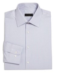 Ike Behar Regular Fit Plaid Dress Shirt Multicolor