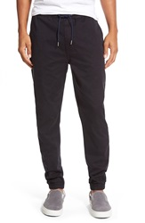 Jack Spade 'Courtside' Twill Jogger Pants Black