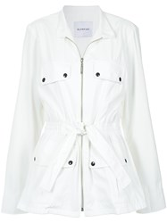 Olympiah Explora Coat White