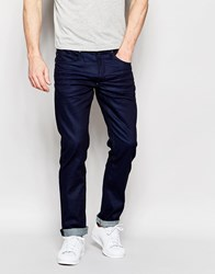 Blend Of America Blend Jeans Cirrus Skinny Fit Coated Indigo Blue