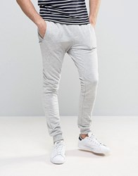 Only And Sons Joggers With Cuffed Hem Grey Marl