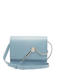 Sophie Hulme Cocktail Large Leather Cross Body Bag Blue