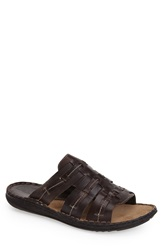 Kenneth Cole Reaction 'Cruise Around' Slide Sandal Men Brown