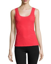 Commando Active Perforated Tank Top Fire Pop