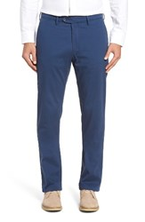Ballin Men's Big And Tall 'Atwater' Cotton Twill Pants Cadet Blue