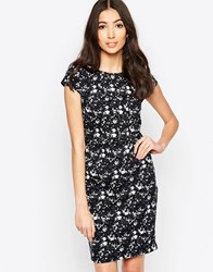 Sugarhill Boutique Georgie Dark Floral Shift Dress Navy