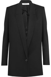 Chalayan Split Side Wool Blazer Black