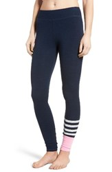 Sundry Women's Stripe Colorblock Leggings
