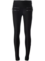 Thomas Wylde Zip Pocket Leggings Black