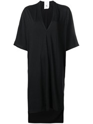 Lost And Found Rooms V Neck T Shirt Dress Black