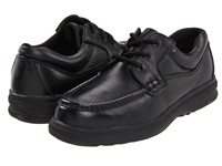 Hush Puppies Gus Black Leather Men's Lace Up Casual Shoes