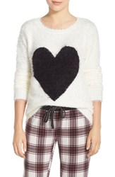 Women's Pj Salvage Heart Front Sweater