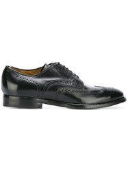 Officine Creative Princeton Canyon Brogues Calf Leather Leather Black