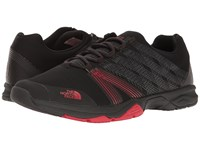 The North Face Litewave Ampere Ii Tnf Black Tnf Red Men's Shoes