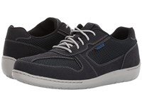 Dunham Fitsmart U Bal Navy Men's Lace Up Casual Shoes
