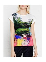 Paul By Paul Smith Painterly Park Paul's Photo T Shirt Multi
