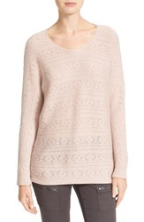 Joie Women's Tayte Wool And Cashmere Pointelle Sweater