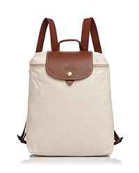 Longchamp Le Pliage Backpack Ivory Gold