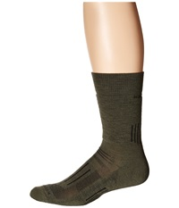 Icebreaker Hike Medium Crew 1 Pair Pack Cargo Men's Crew Cut Socks Shoes Taupe