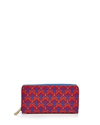 Liberty London Liberty Of London Large Zip Around Wallet Red