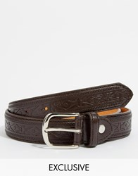 Reclaimed Vintage Belt Brown