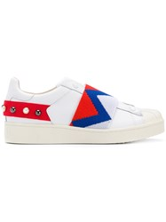 Moa Master Of Arts Elasticated Strap Sneakers White